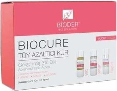 Bioderma Bioder Bıocure Tüy Azaltıcı Kür 3 Lü Vücut Renksiz